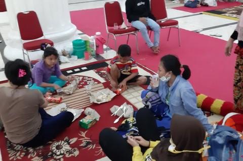 Korban banjir di Gorontalo Masih Bertahan di Pengungsian