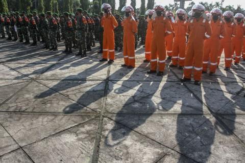 Pangdam I/BB Pimpin Apel Kesiapsiagaan Penanggulangan Karhutla Riau