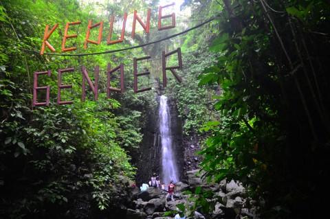 Indahnya Wisata Air Terjun Kedung Gender