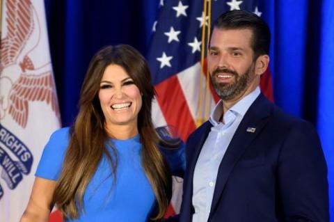 Kekasih Putra Sulung Trump Positif Covid-19