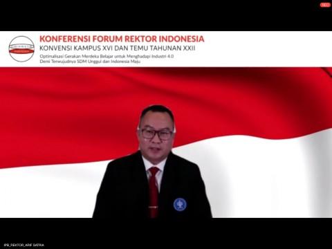 Arif Satria Resmi Jabat Ketua Forum Rektor Indonesia  2020