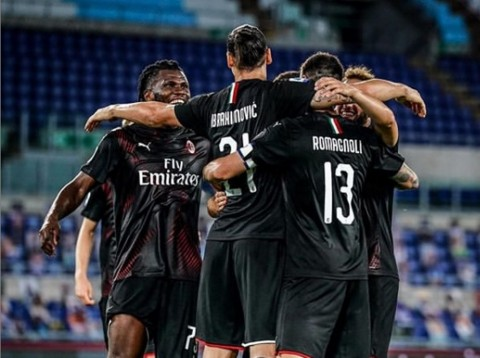 Milan Permalukan Lazio