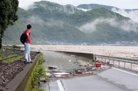 Korban Banjir Jepang Dikhawatirkan Bertambah Jadi 19 Orang