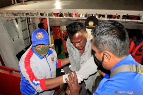 SAR Kupang Lanjutkan Pencarian 7 Korban Kapal Tenggelam