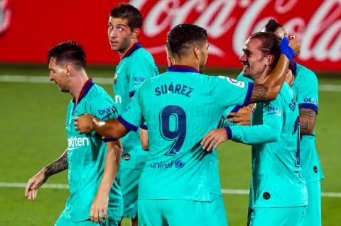Barcelona Setop Tren Tak Terkalahkan Villarreal
