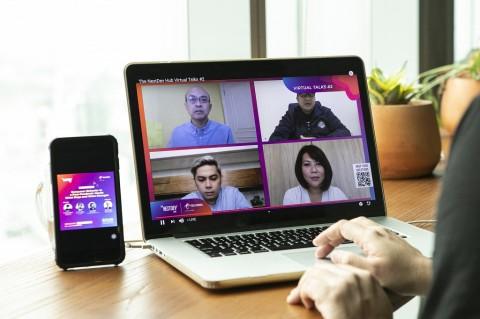 The NextDev Hub Virtual Talks Ajak Pelaku Startup Terus Berinovasi