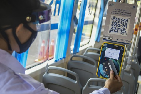Bus Listrik TransJakarta Mulai Diuji Coba