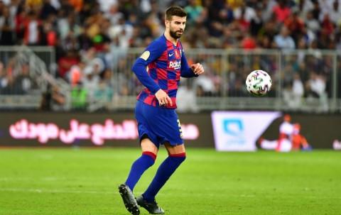 Barcelona Hantam Villarreal, Pique Masih Antusias Tatap Gelar