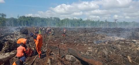 12 Hektare Lahan Gambut di Nagan Raya Terbakar