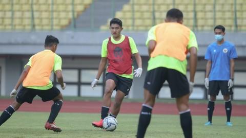 Penggawa Timnas U-16 Merasa Aneh kembali Latihan di Lapangan