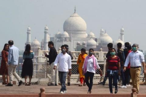 India Batalkan Pembukaan Kembali Taj Mahal