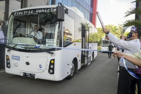 100 Bus Listrik TransJakarta Diuji Coba Hingga Akhir 2020