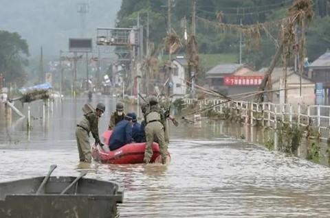 Korban Tewas Banjir Jepang Bertambah Jadi 50 Orang