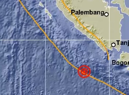 Gempa 5,2 Magnitudo Guncang Enggano, Bengkulu