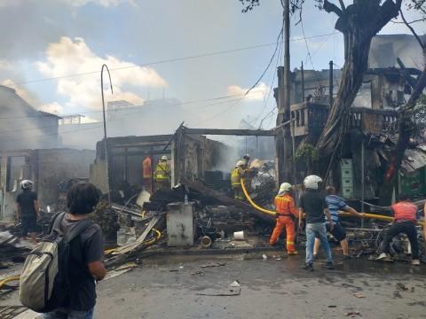 Kerugian Akibat Kebakaran di Tebet Sekitar Rp1,5 Miliar