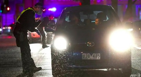 Angka Infeksi Covid-19 Meningkat di Melbourne, Polisi Turun Tangan