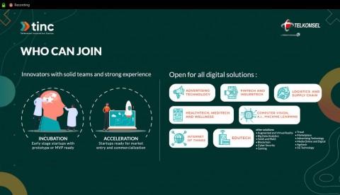 Tinc Batch 5 Digelar, Telkomsel Ajak Startup Lahirkan Inovasi Digital