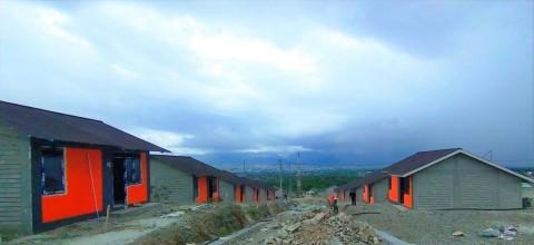 Rumah Korban Bencana Palu Siap Dihuni Akhir Tahun