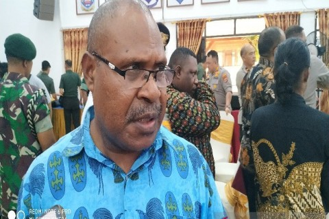 Pencairan Dana Pilkada di 11 Kabupaten di Papua Baru 40%