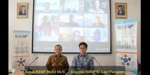 BSNP Uji Publik Standar Baru Pembelajaran Jarak Jauh