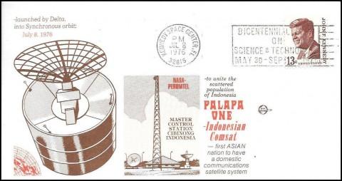8 Juli 1976, Indonesia Terbangkan Satelit Pertamanya