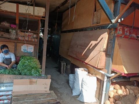 Ratusan Pedagang Sumur Baru Menghindari Tes Swab