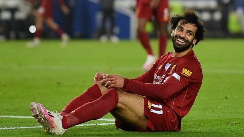 Sepasang Gol Salah Bantu Liverpool Tundukkan Brighton & Hove Albion