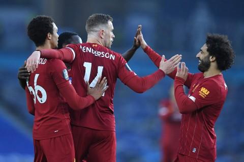 Liverpool Tundukkan Brighton 3-1