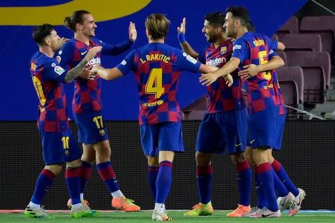 Menang 1-0, Barca Kirim Espanyol ke Kasta Kedua