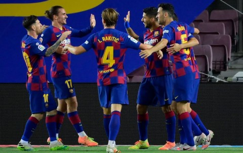 Tundukkan Espanyol, Barcelona Masih Dapat Catatan dari Setien