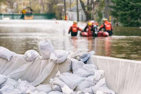 Flash Flood in West Kalimantan Damages Homes, Bridge