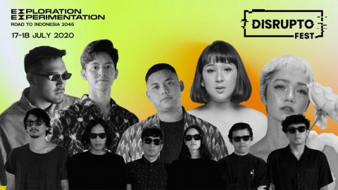 Agatha Pricilla dan Goodnight Electric Meriahkan Disrupto Festival 2020