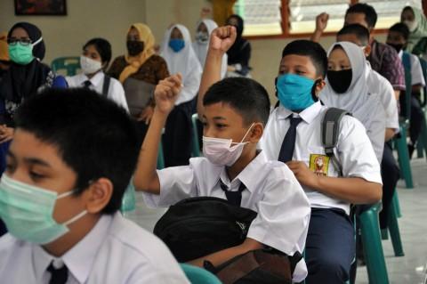 Siswa di Medan Ikuti MPLS dengan Tatap Muka