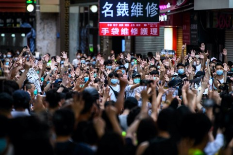 RI Minta Prinsip Demokrasi Tetap Ditegakkan di Hong Kong