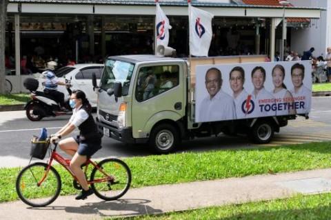 Jelang Pemilu 2020, Singapura Masuki Masa Tenang Tanpa Kampanye