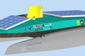 Kapal Hemat Energi Mahasiswa UI Terfavorit di Lomba Kelas Dunia