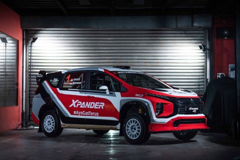 Mitsubishi Xpander AP4 Siap Uji Coba Perdana