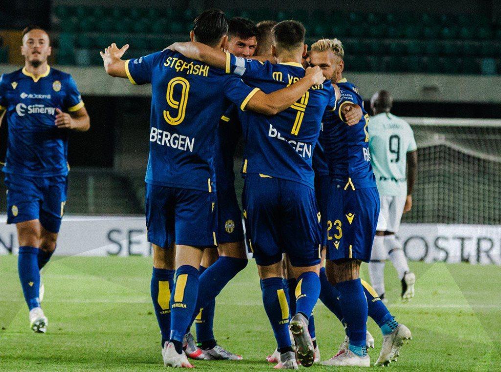 Hellas Verona Paksa Inter Milan Berbagi Angka - Medcom.id