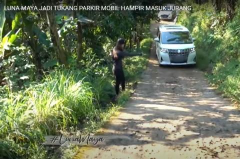 Alphard Luna Maya Gagal Nanjak, Ini Kata Toyota