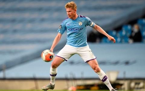 De Bruyne Bahagia di Manchester City dan tak Berpikir Hengkang