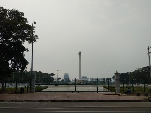 Wajah Baru Plaza Selatan Monas