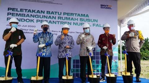 Rusun Rp3,18 Miliar bagi Santri di Bangka Tengah
