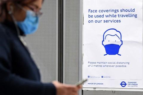 Penggunaan Masker akan Diwajibkan di Semua Toko Inggris