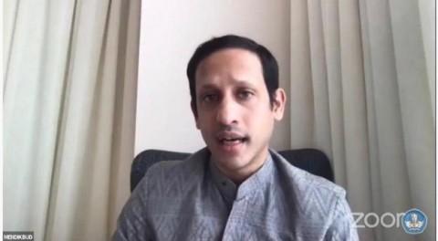 Nadiem Mengaku 'Frustasi' Urus Pendidikan Indonesia