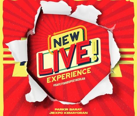 New Live! Experience, Nama Baru Drive-In Konser di Indonesia