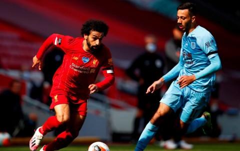 Sempat Unggul, Liverpool Ditahan Imbang Burnley