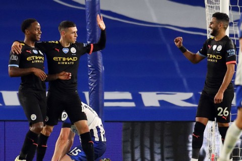 City Pesta Gol ke Gawang Brighton