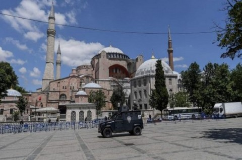 Dewan Gereja Minta Turki Batalkan Perubahan Hagia Sophia