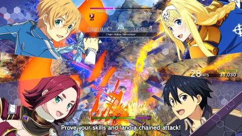Sword Art Online Alicization Lycoris Sudah Bisa Dimainkan