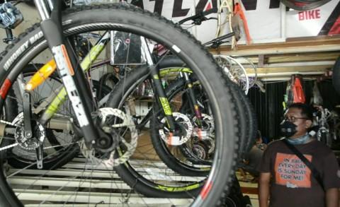 Menperin Dorong Komponen Sepeda Dibangun di Dalam Negeri